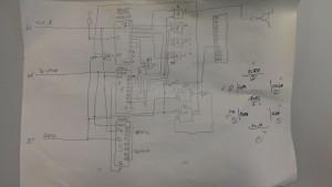 Schaltplan des 7-Segment Displays